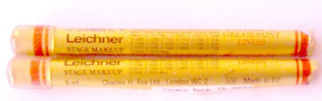 Leichner paint liner No 59 chrome yellow